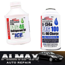 PAG Oils, almax auto, repair parts, air conditioning and heatings